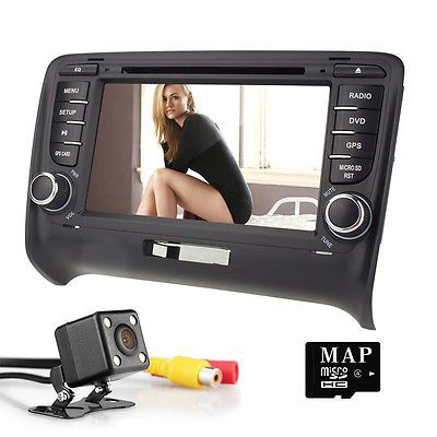 ﹩299 00  Car Android 5 1 DVD GPS Radio Stereo for Audi TT MK2 Quad