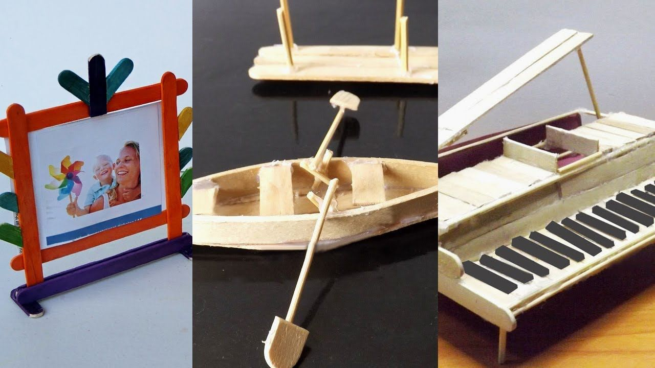 5 Easy Popsicle Stick Crafts You Can Make At Home 2