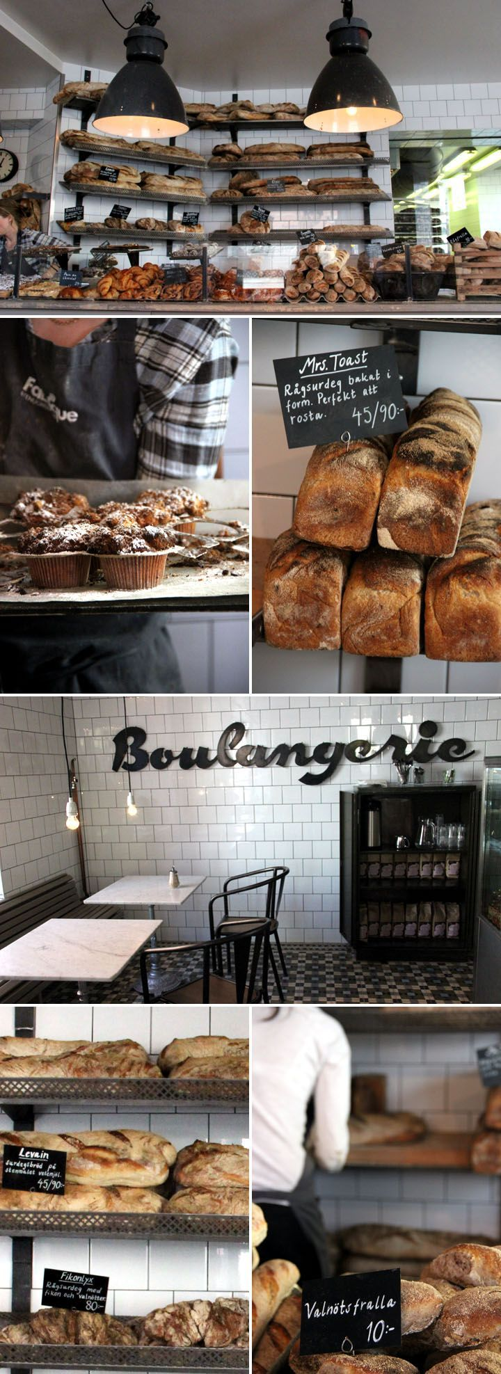 boulangerie || I'm wishful to have my own little bakery someday, along side my Rosey Tea Room X lynne