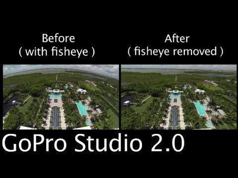 ▷ Tip #224 GoPro - Studio 2 0 Remove Fisheye Look - YouTube | All