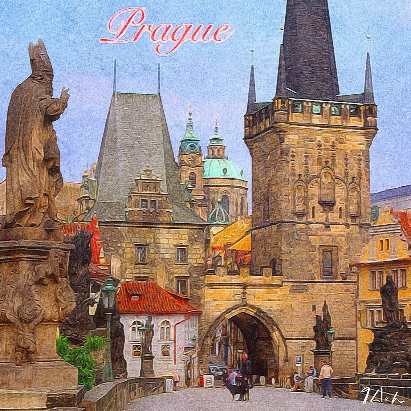 Prag in Tschechien.