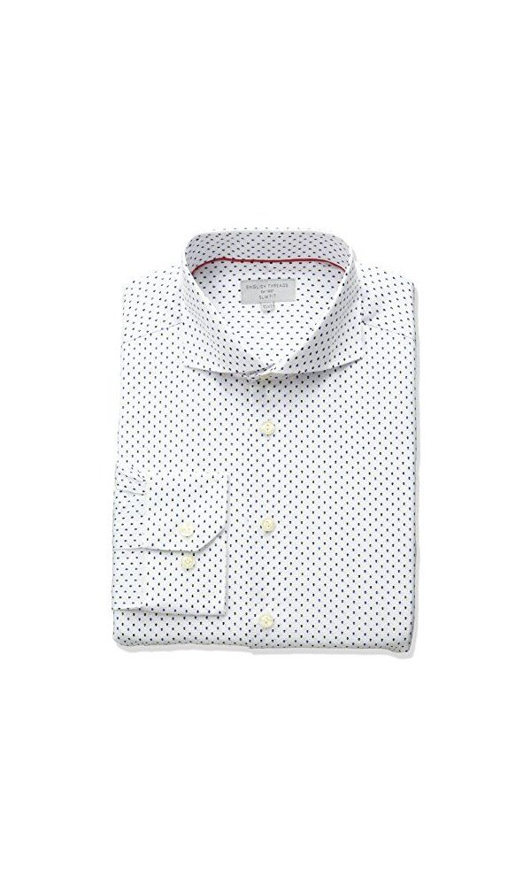 da988e2801ff94 120$ - English Threads Men s Slim Fit Arrow Dress Shirt- White- 155 ...