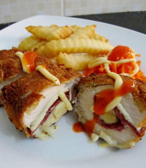 Resep Chicken Cordon Bleu Chicken Cordon Bleu Resep Masakan Resep Makanan