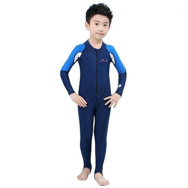 442efb4730f0 Swimming Dress Kids Boys Girls Snorkeling Clothing
