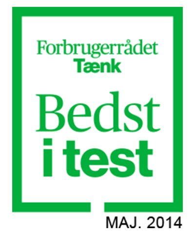 bedst i test and