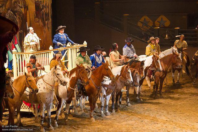 Buffalo Bill S Wild West Show Disney Paris