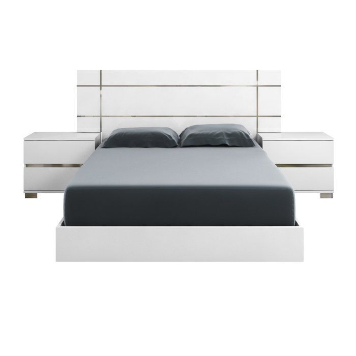 Salerno Platform Bed King Platform Bed Queen Size Platform Bed King Size Platform Bed