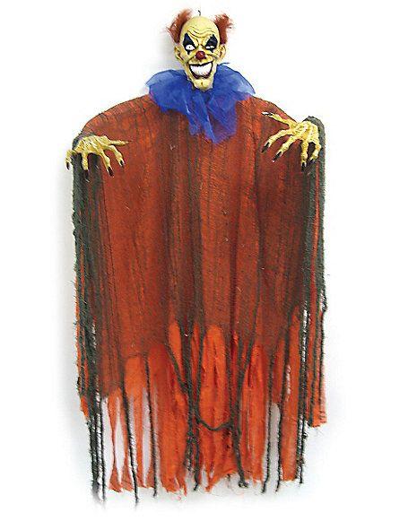 CLOWN RM $14.99 3 ft Orange and Blue Hanging Clown - Decoration - Spirithalloween.com