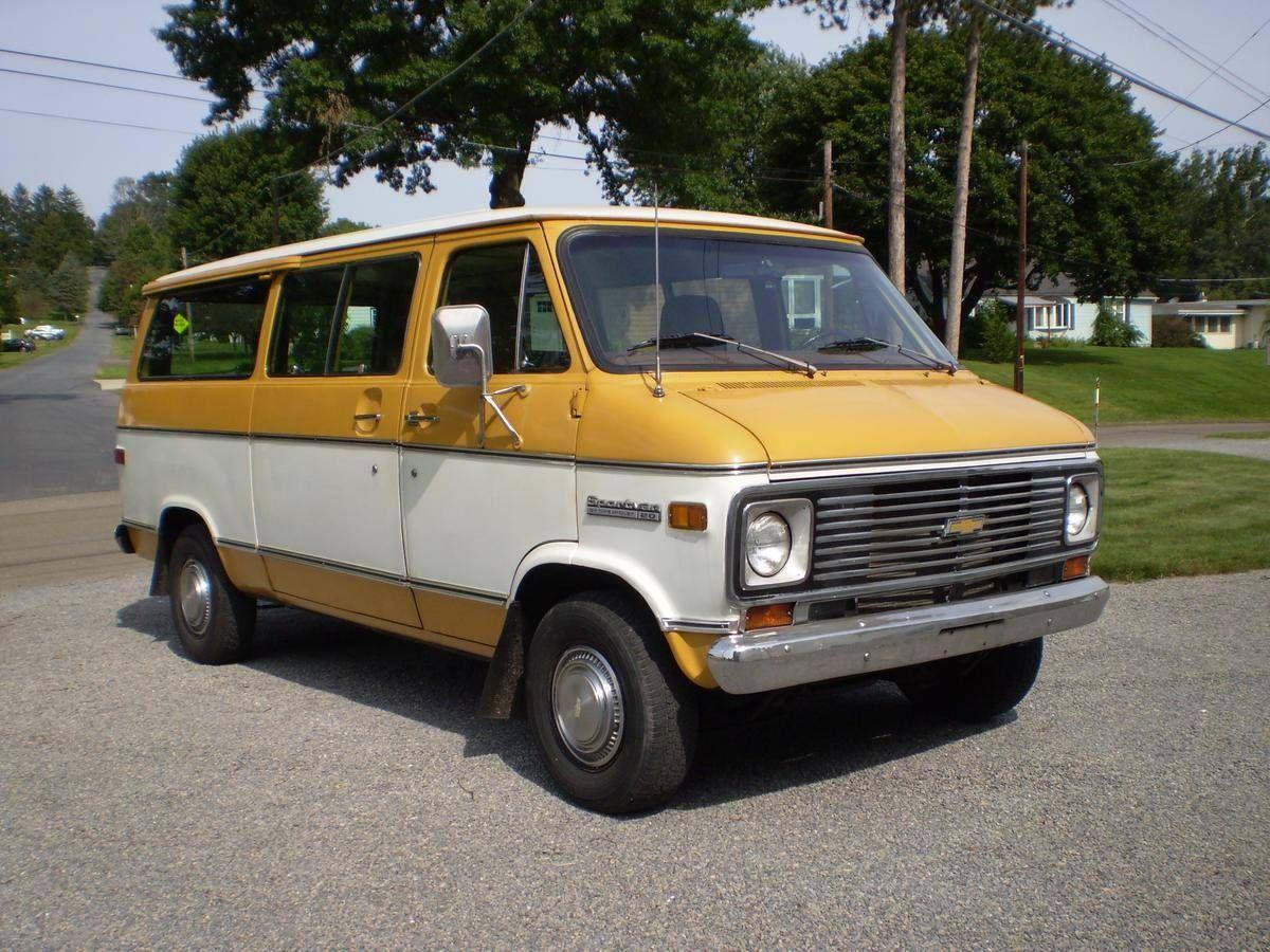 1st Van Purchased With Dotd Funds 1975 Chevrolet G20 Sportvan