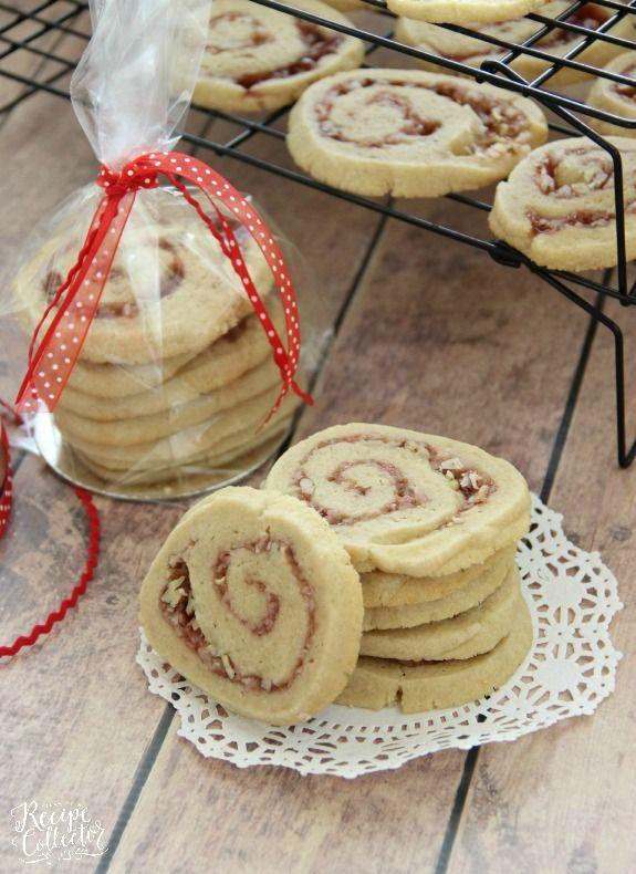 Strawberry Swirl Cookies Recipe Cookies Pinterest Easy sugar