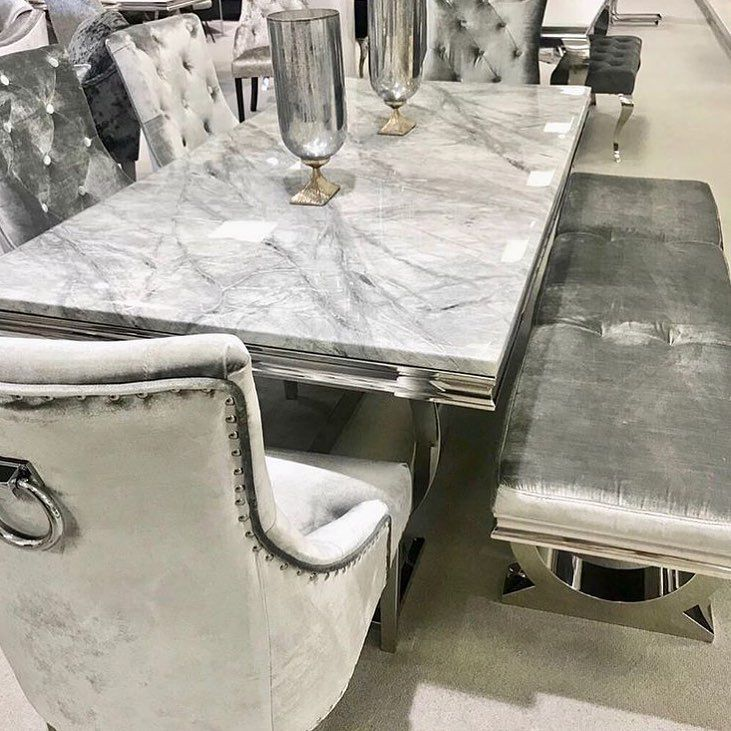 Grey Marble Arianna Dining Table Was 999 Now 739 Belvedere