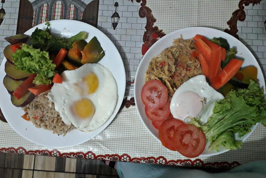 Ajudando mami a fazer melhores escolhas na alimentação ❤❤ muito orgulho . . . .  #voc��melhordoq...