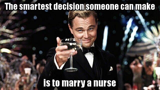 Marry a nurse #nurse #nursing #rn #meme #funny #memes #nursingschool ...