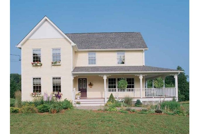 Victorian Style House Plan 3 Beds 2 5 Baths 1621 Sq Ft Plan 1051 2 Farmhouse Style House House Plans Farmhouse Farmhouse Floor Plans