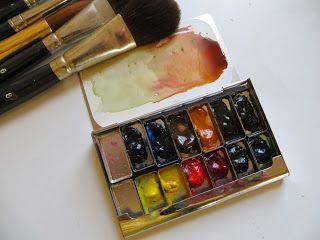 Pentamento: How small a palette?