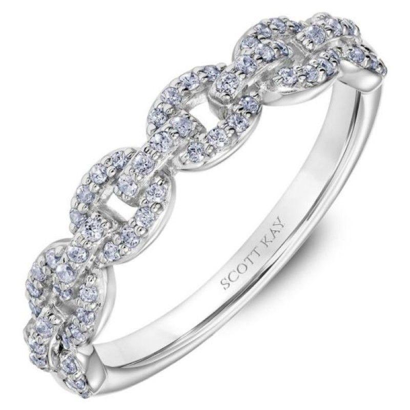 White Gold Scott Kay Diamond Wedding Band Diamond Wedding Bands Womens Wedding Bands Womens Wedding Bands Diamond