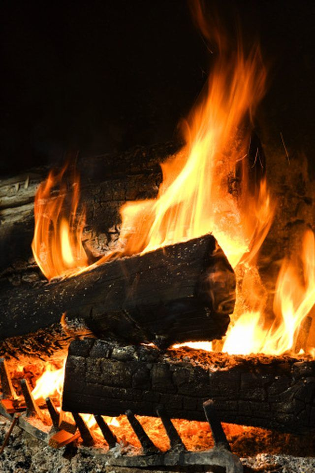 How To Make A Silk Flame Fake Fire Faux Fireplace Smoke Smell