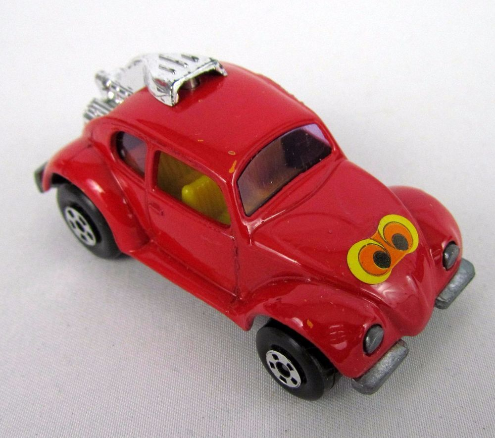 Vtg 1971 Matchbox Superfast 31 VOLKSDRAGON VW Beetle