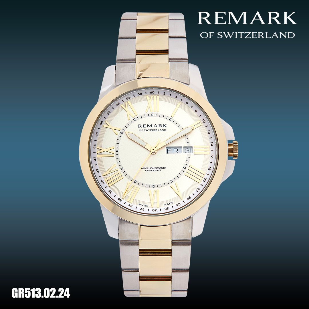 Remark Collection Stainless Steel Band Stainless Steel Case Swiss Made Watches