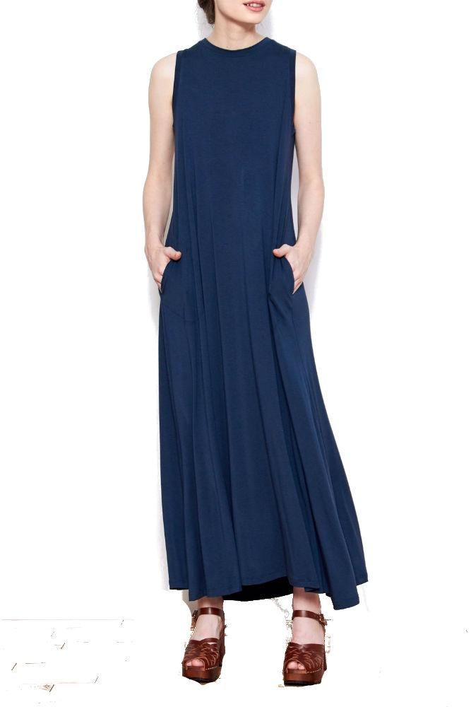 SARAH LILLER SF Josephine Maxi Dress in Navy #Ad #SF, #Sponsored, #LILLER, #SARAH, #Josephine