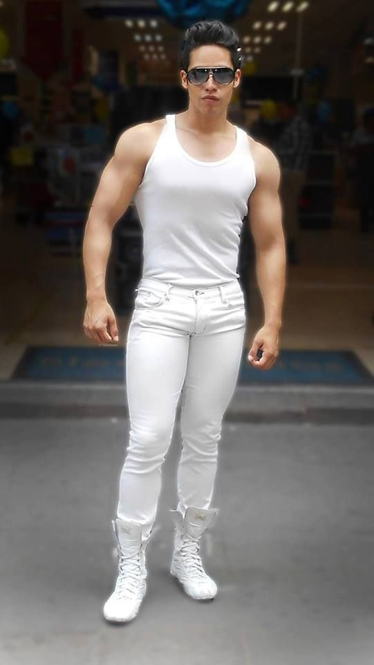 Are white jeans gay