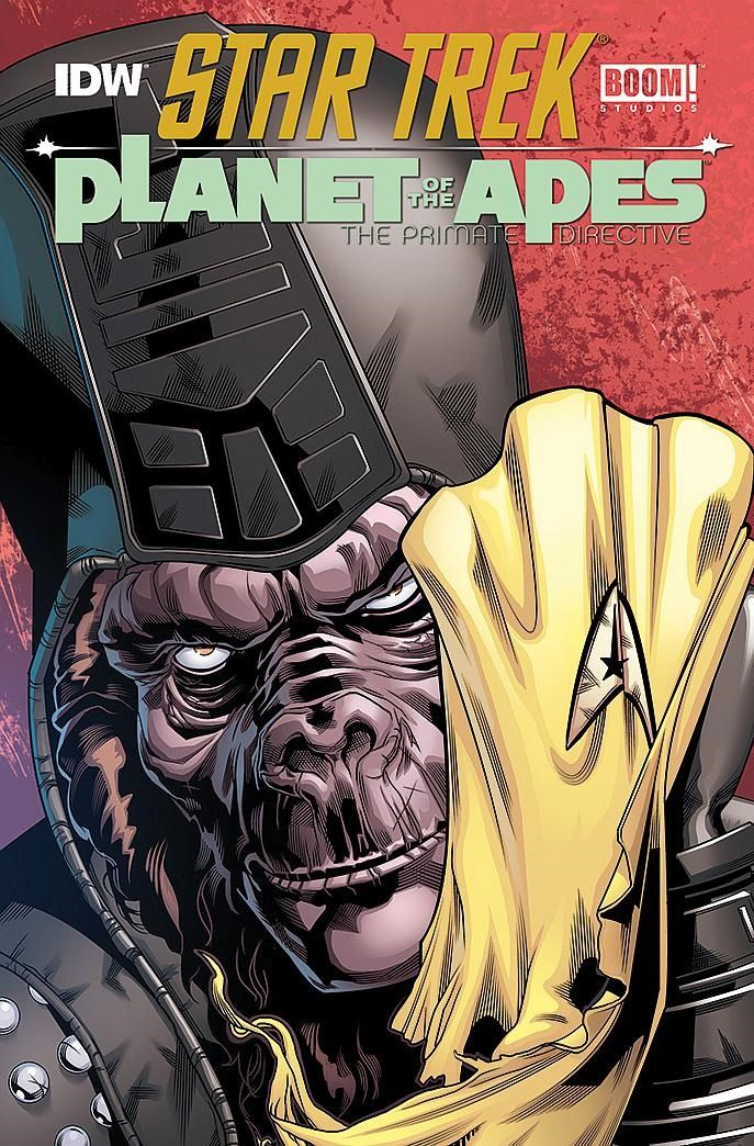 Star Trek Meets Planet of the Apes From IDW & BOOM!