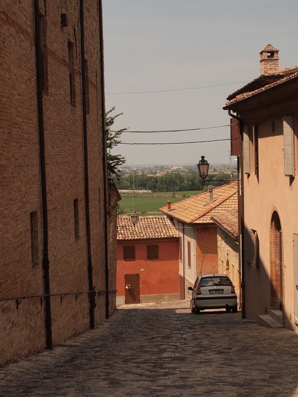 """""""The streets of Santarcangelo di Romagna"""" - """"Exploring EmiliaRomagna. Crossing the Rubicon, bees and bikes, and the perfect town"""" by @keaneiscool"""
