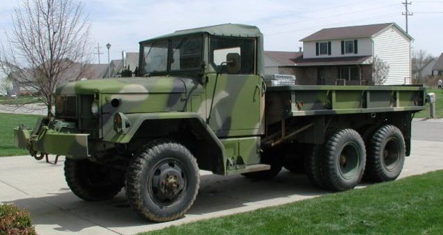 Gifts For Jeep Lovers >> Your Truck Doesn't Compare To This M35A2 'Deuce And A Half' | Trucks, Army vehicles, 6x6 truck