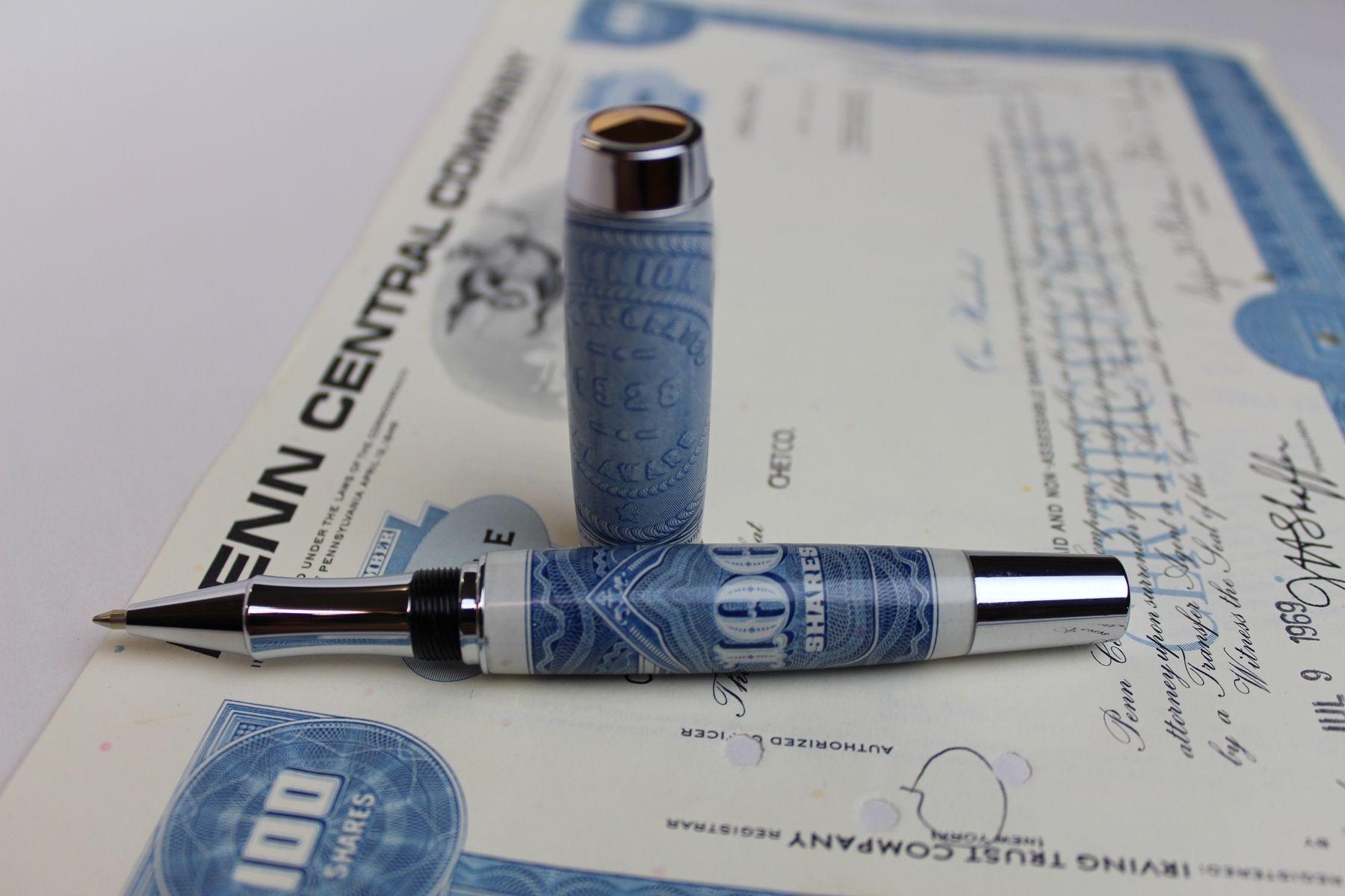 Custom Made Stocks And Bonds, The Pen Series