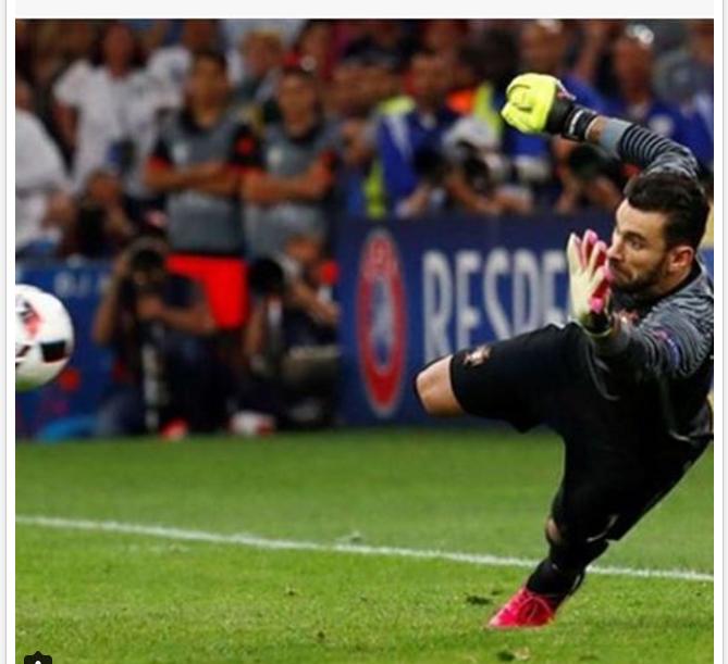 Rui Patrício - Defesa no desempate por grandes penalidades - Portugal X Polónia…