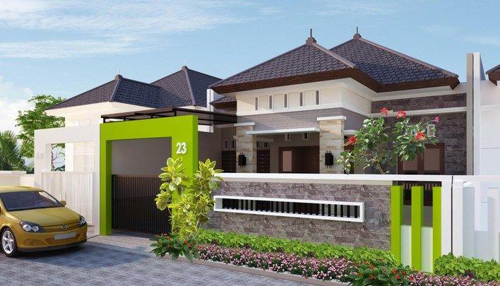 Desain Mewah Rumah Jawa Modern Minimalis