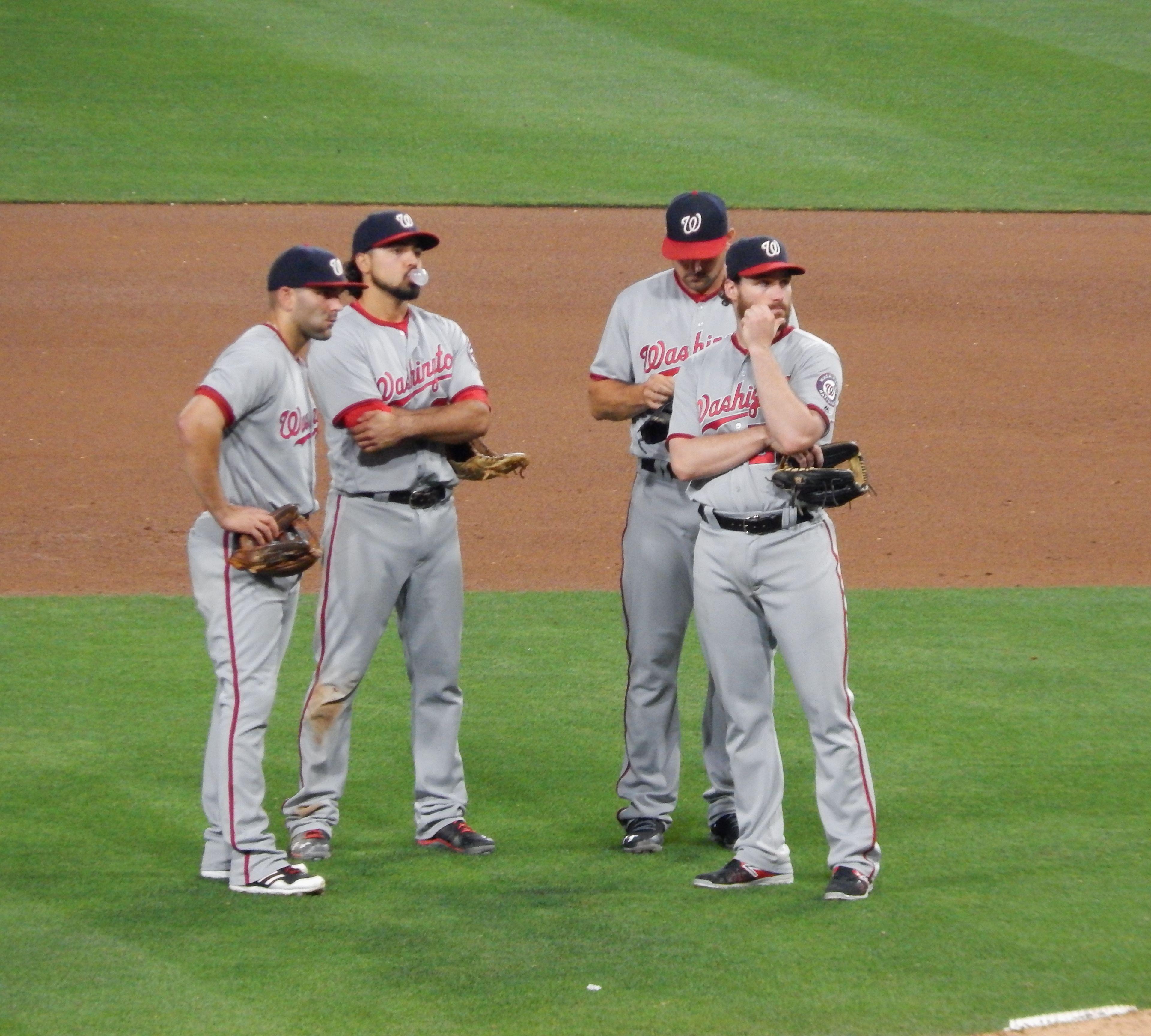 Serie SD Padres vs Washington Nationals 17 junio 2016.