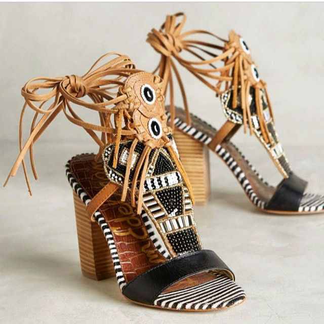98d1777befa Sam Edelman Yates Tribal Fringe Sandals