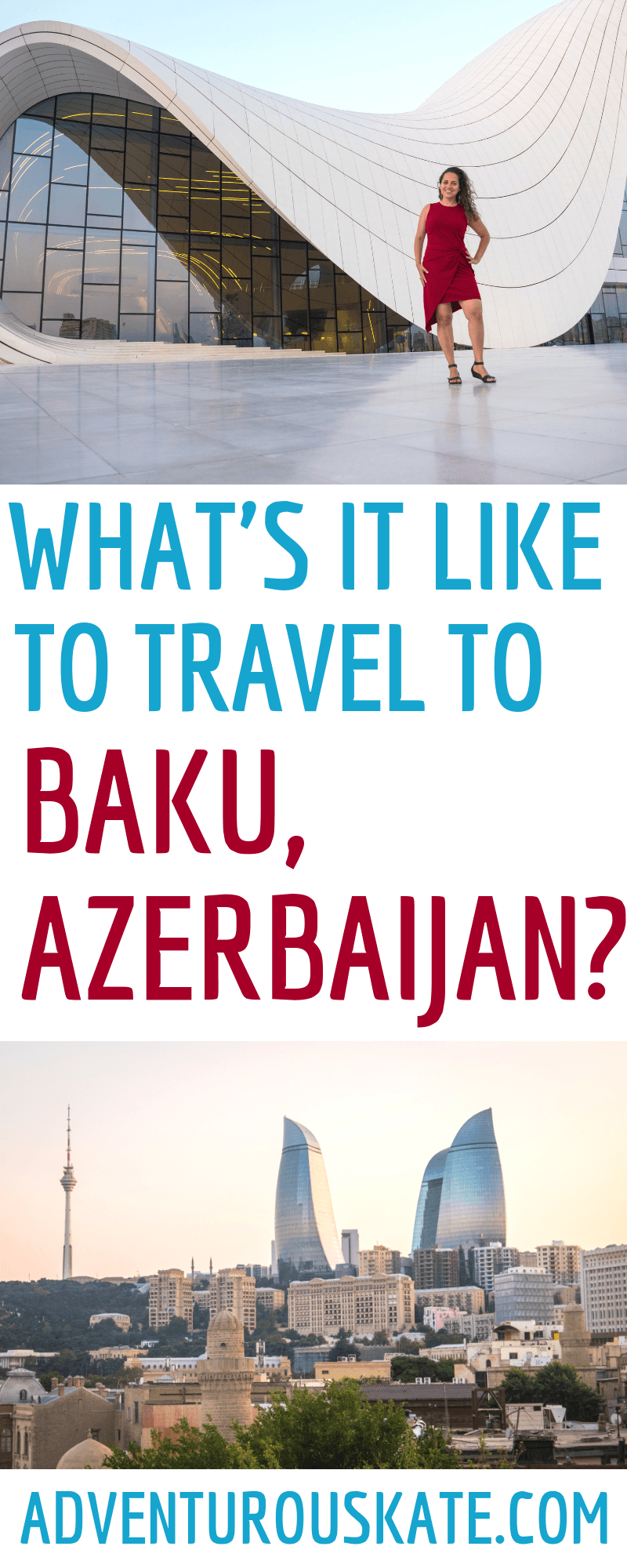 What S It Really Like To Travel To Baku Azerbaijan Adventurous Kate Azerbaijan Travel Travel Asia Travel