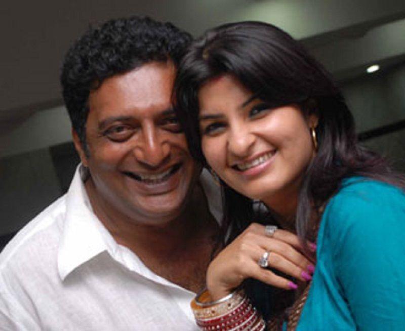 Actor Prakash Raj and ...