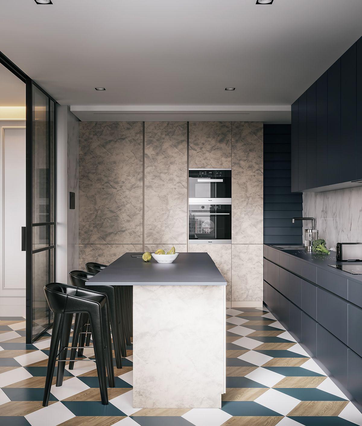 Modernized Bungalow Kitchen Renovation: Modern Classic On Behance