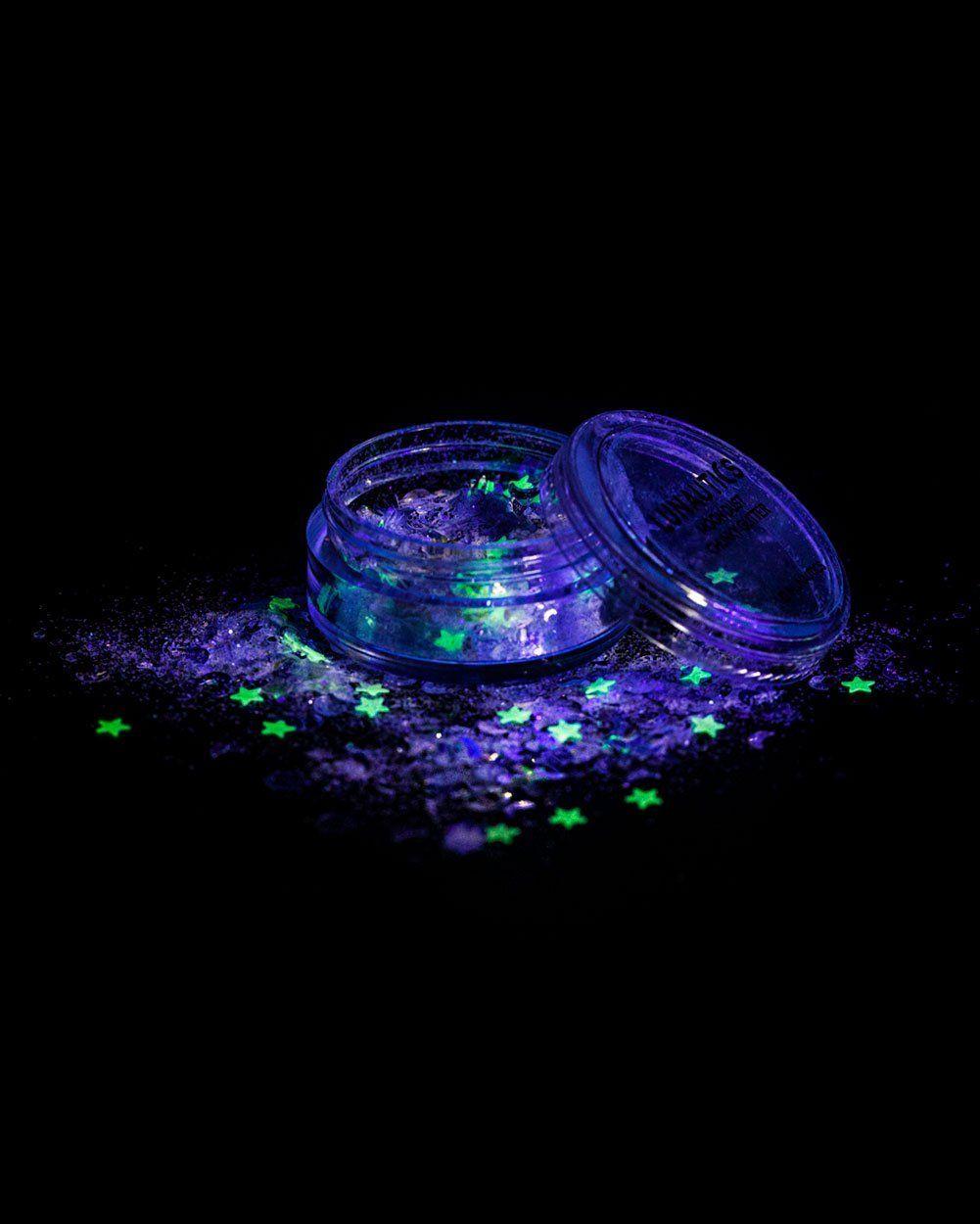 Lunautics zenon uv reactive glitter stocking ideas pinterest