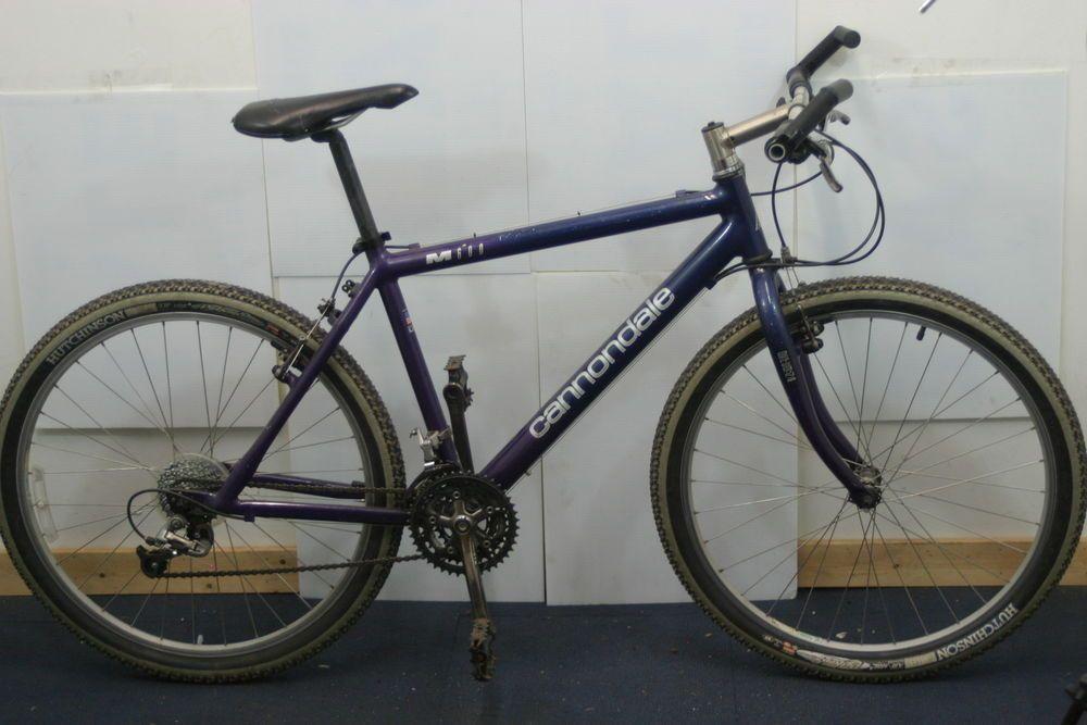 Vintage Cannondale Mountain Bike M600 Xc 26er Stx Smoke Ltd Usa Gravel Charity Cannondale Compras Cosas Para Comprar