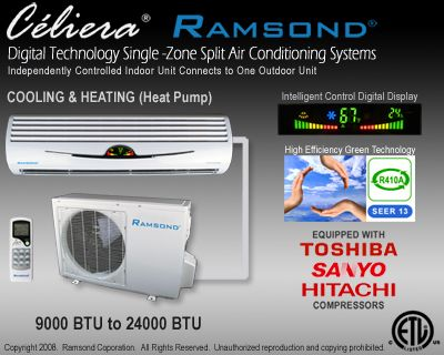 Single Zone Air Conditioners Air Conditioning System Ductless Central Air Conditioning Units
