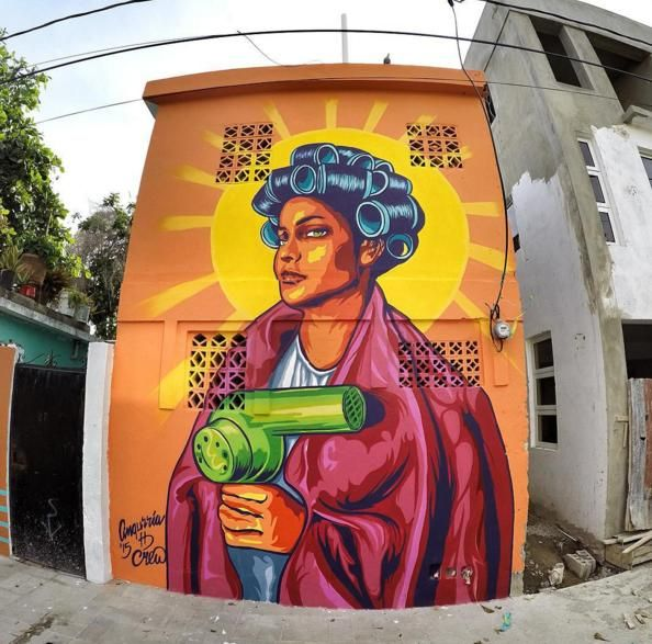 Mural Artists: Artists Paint Street Murals To Elevate Dominican Culture