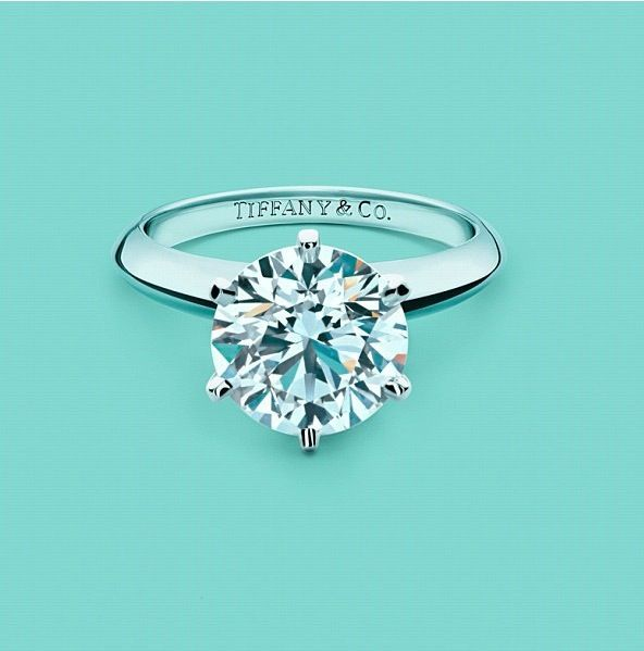 Tiffany Rings Nothing Is More Perfect Than This Simple Clic Beauty With A Stone Like All You Need One Diamond Someday