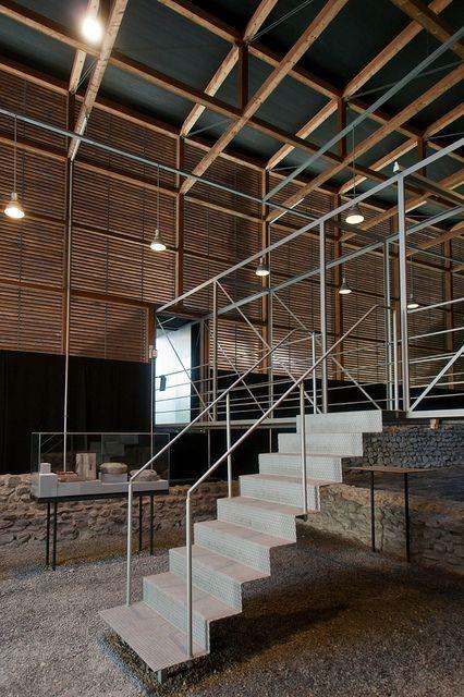 Innenarchitektur Chur suspended stairs in chur romans ruins by zumthor the kgervas