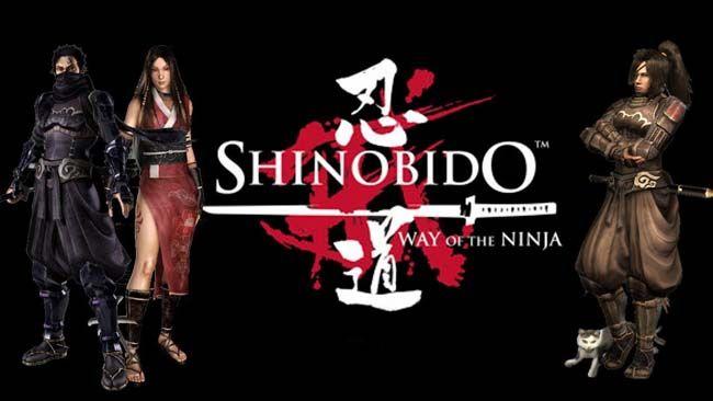 download shinobido way of the ninja pc iso player