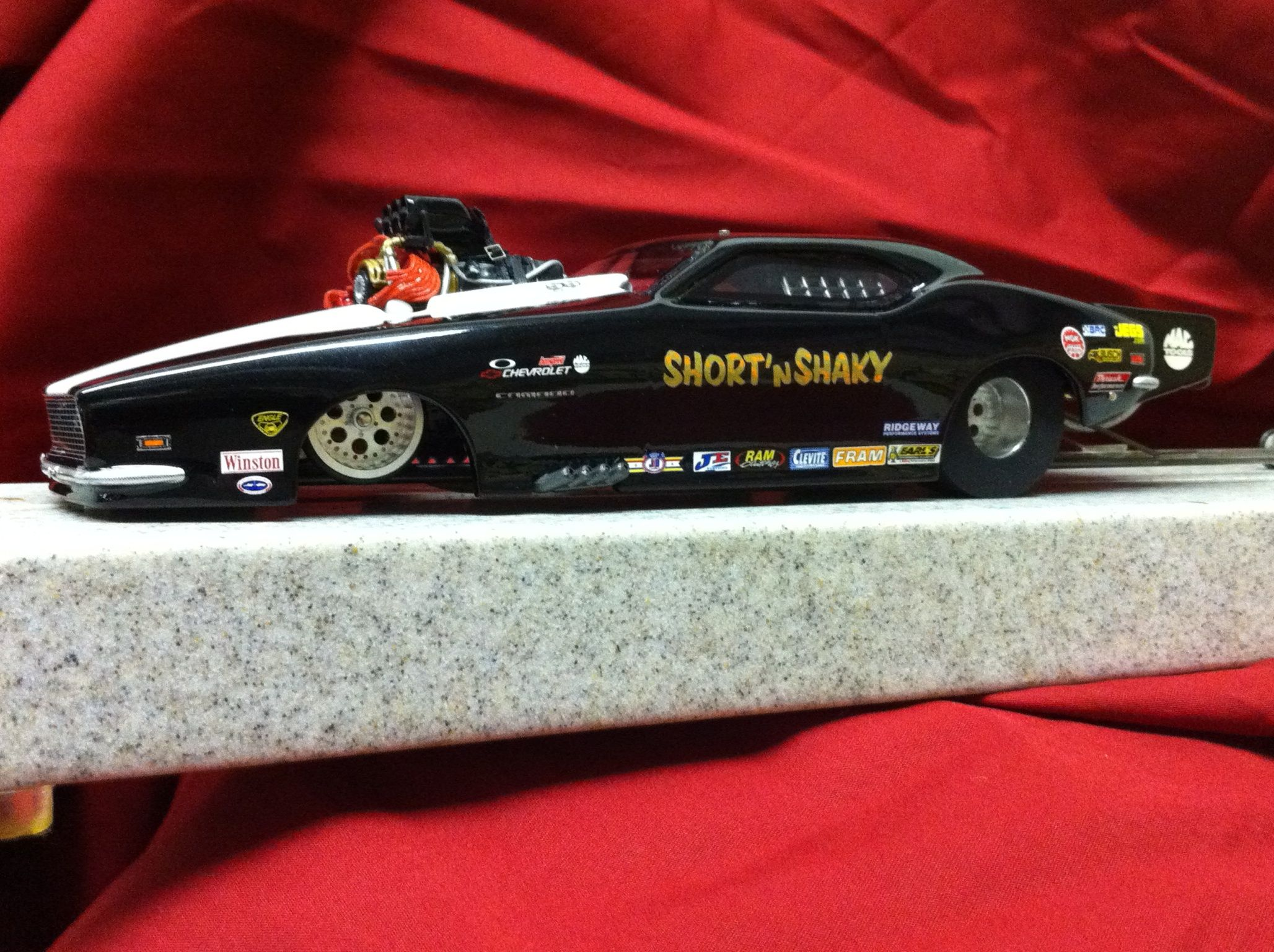 1/24 scale resin drag slot car  | slot cars | Slot car drag