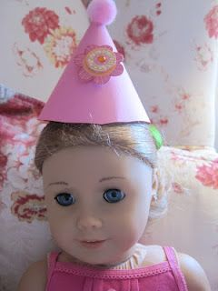 doll size party hat diy american girl pinterest dolls doll