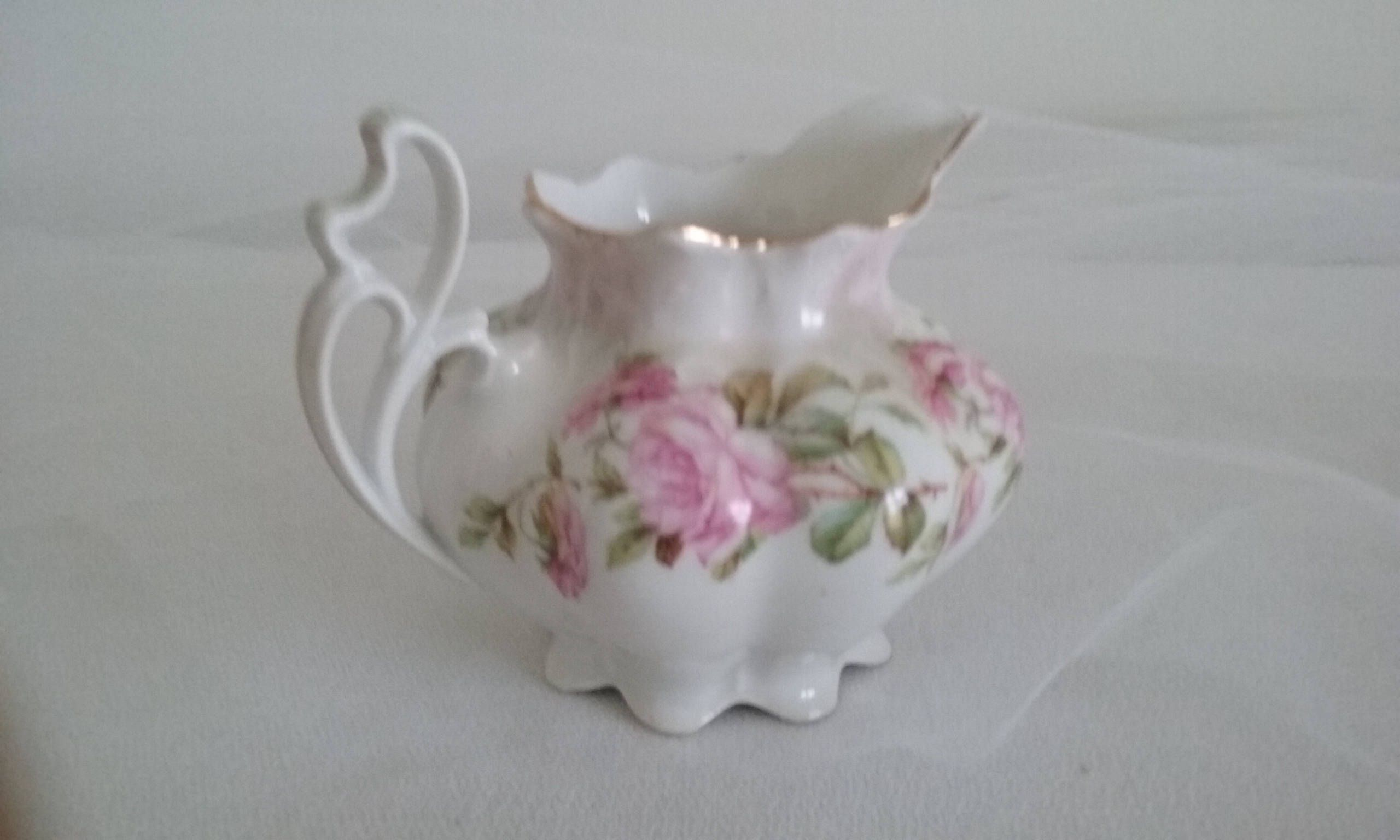Mz Austria Rose Pattern Creamer Mz Austria Creamer