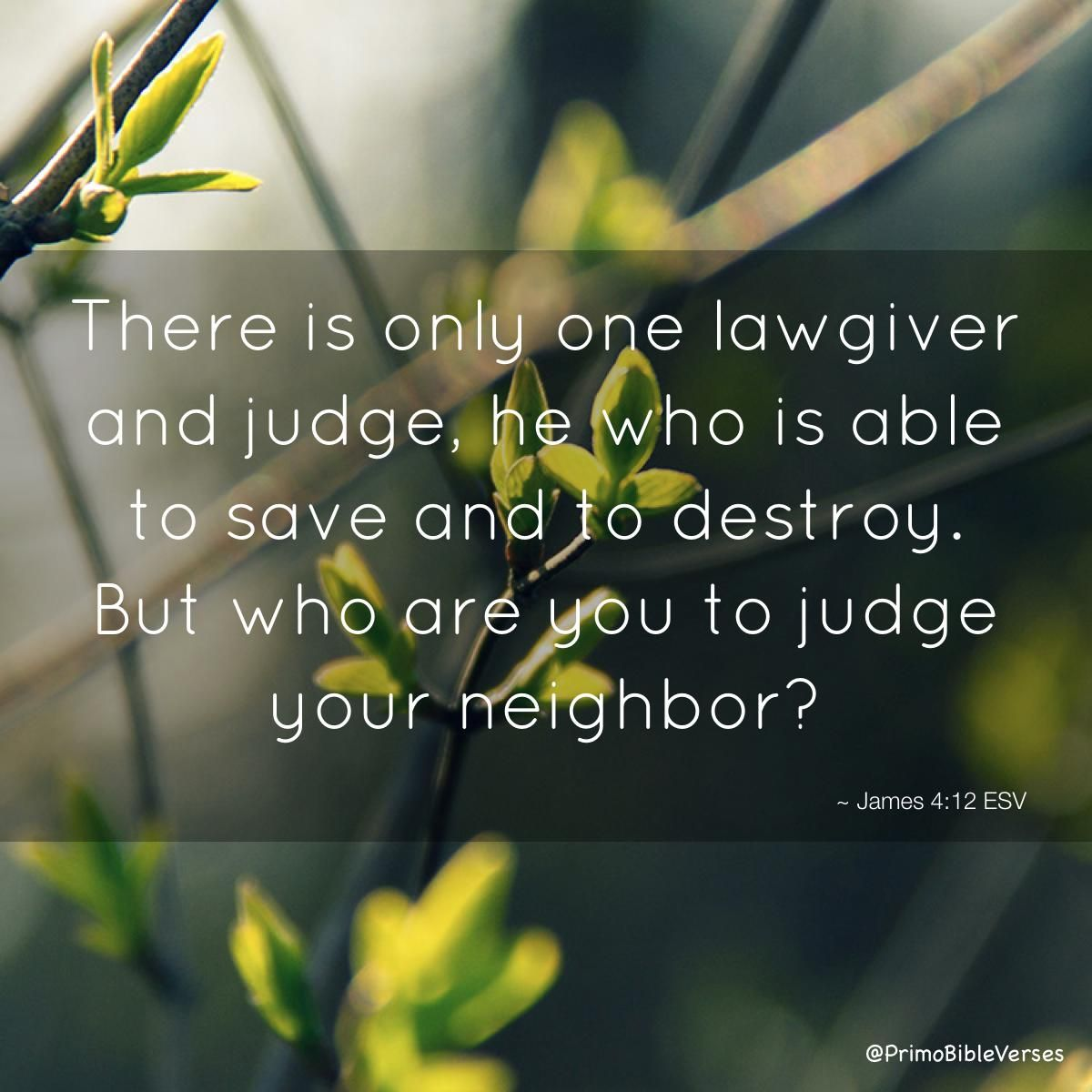 Image Result For There Is Only One Lawgiver And Judge He
