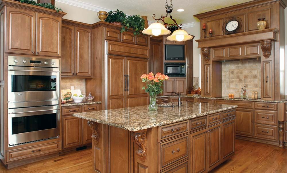 Classical Kitchen :: Huntwood Custom Cabinets | Kitchen ...