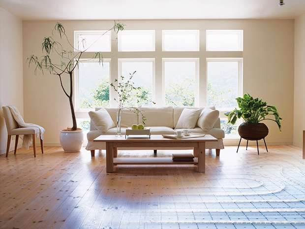 Keep your home warm all year round by installing underfloor heating