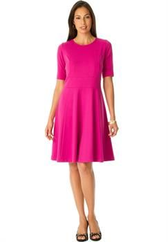 Plus Size Jessica London®  Ponté Knit Dress